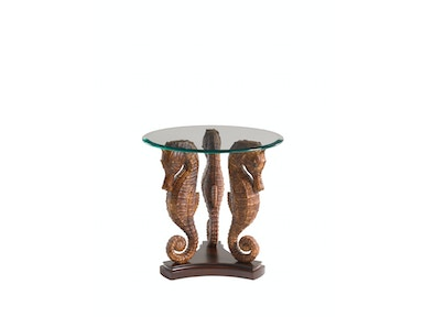 Tommy Bahama Home Sea Horse Lamp Table