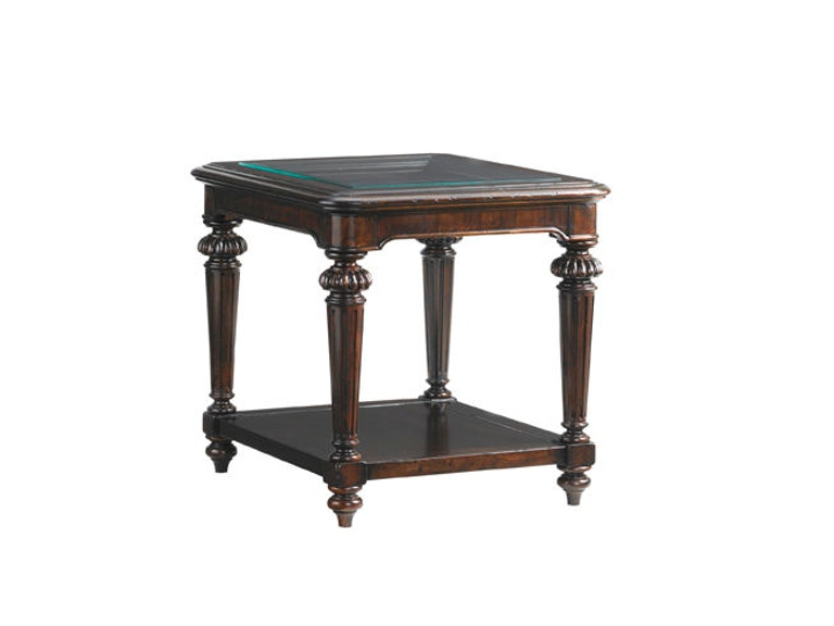 Tommy Bahama Home Sheffield Rectangular End Table 548-957
