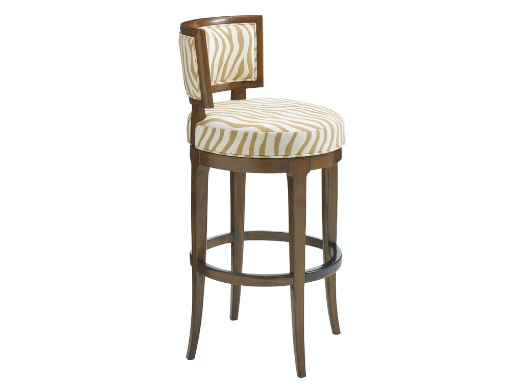 Tommy bahama home bar and game room macau swivel bar stool for Home bar furniture in san antonio