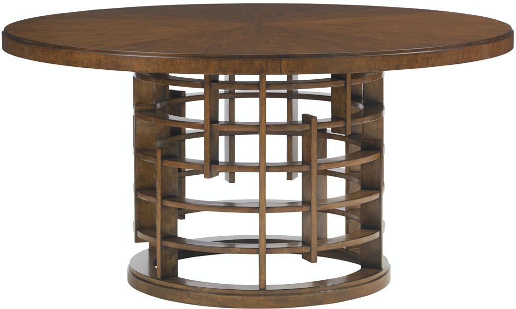 tommy bahama home dining room meridien round dining table base 556