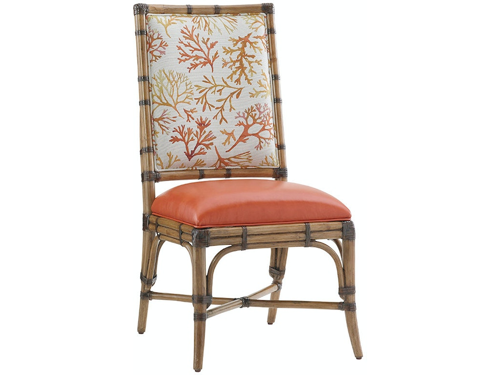 Tommy Bahama Home Dining Room Summer Isle Upholstered Side Chair 558 ...