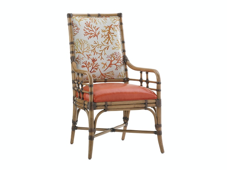 Tommy Bahama Home Summer Isle Upholstered Arm Chair 558-883