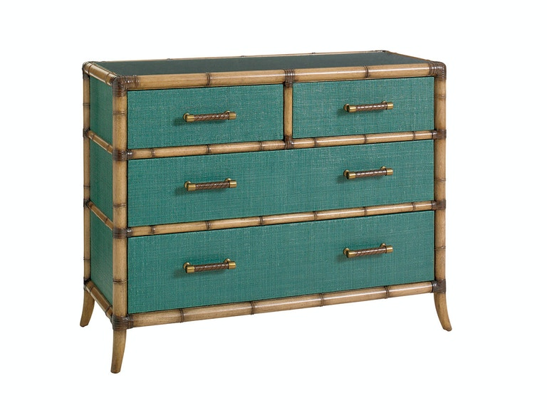 Tommy Bahama Home Pacific Teal Chest 560-624