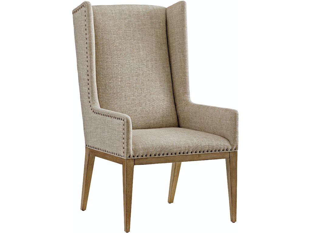 Tommy Bahama Home Dining Room Milton Host Chair 561 885 01 Saxon Clark Furniture Patio Design