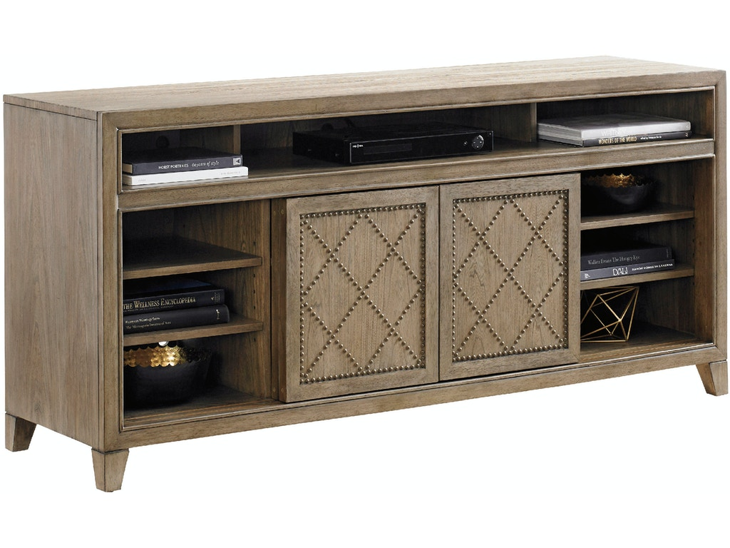 Tommy Bahama Home Home Entertainment Fairbanks Media Console 561 907 Ennis Fine Furniture