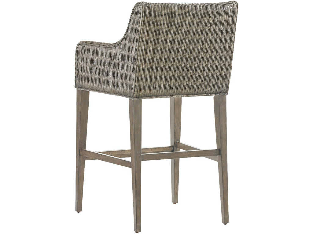 Tommy Bahama Home Bar And Game Room Turner Woven Bar Stool 562 896 01 Louis Shanks Austin
