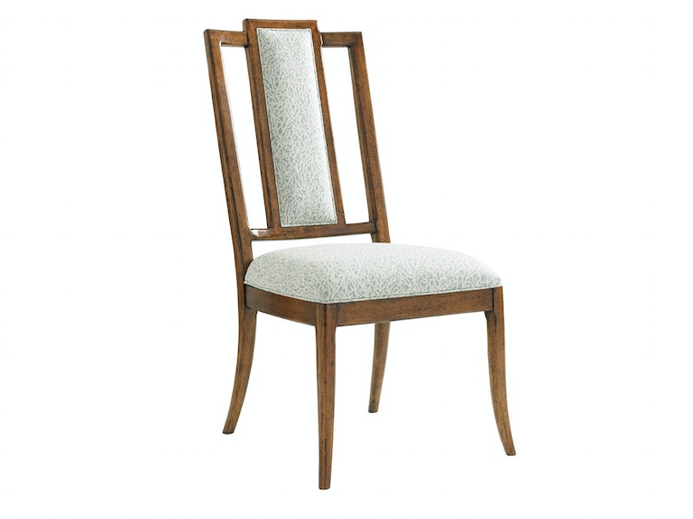 Tommy Bahama Home St. Barts Splat Back Side Chair 593-882