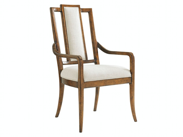 Tommy Bahama Home St. Barts Back Splat Arm Chair 593-883-01