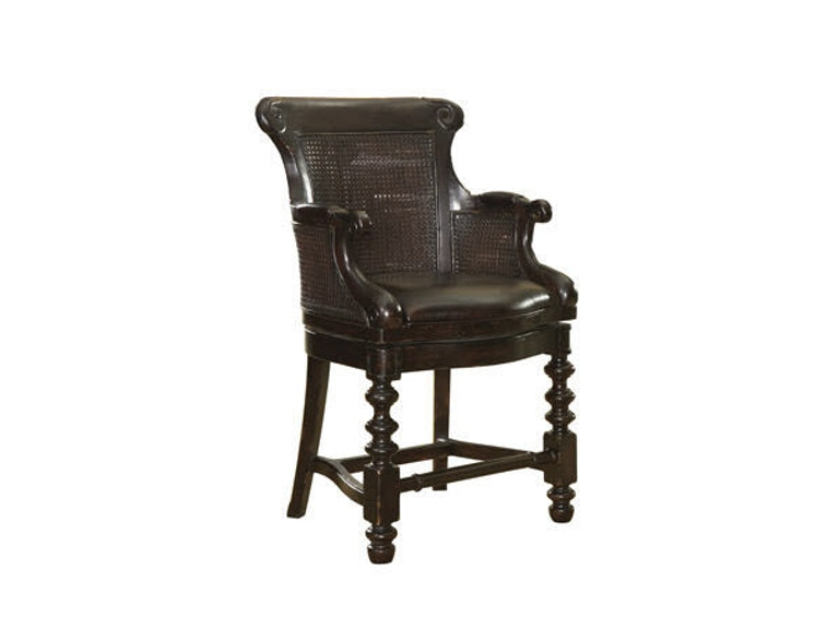 Tommy Bahama Home Dunkirk Swivel Counter Stool 619-815-01