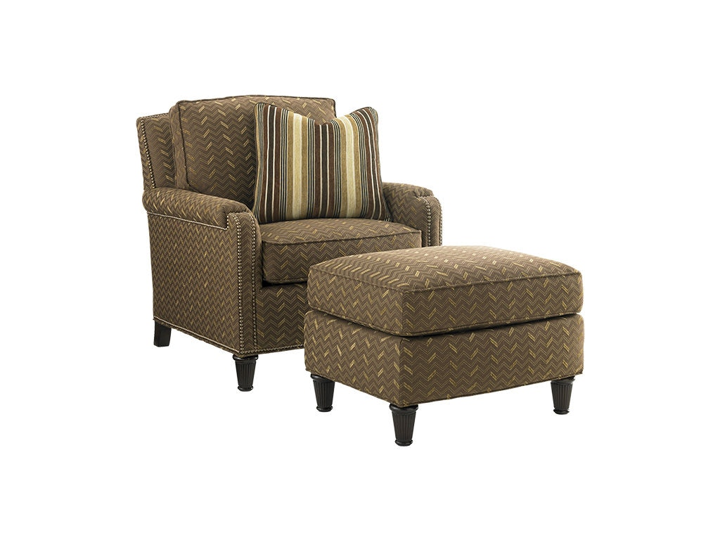 Tommy bahama home living room bishop chair 7274 11 for Quality furniture