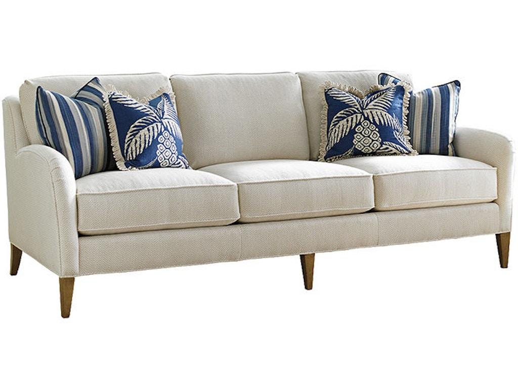 Tommy Bahama Home Living Room Coconut Grove Sofa 7287-33 - Royal ...
