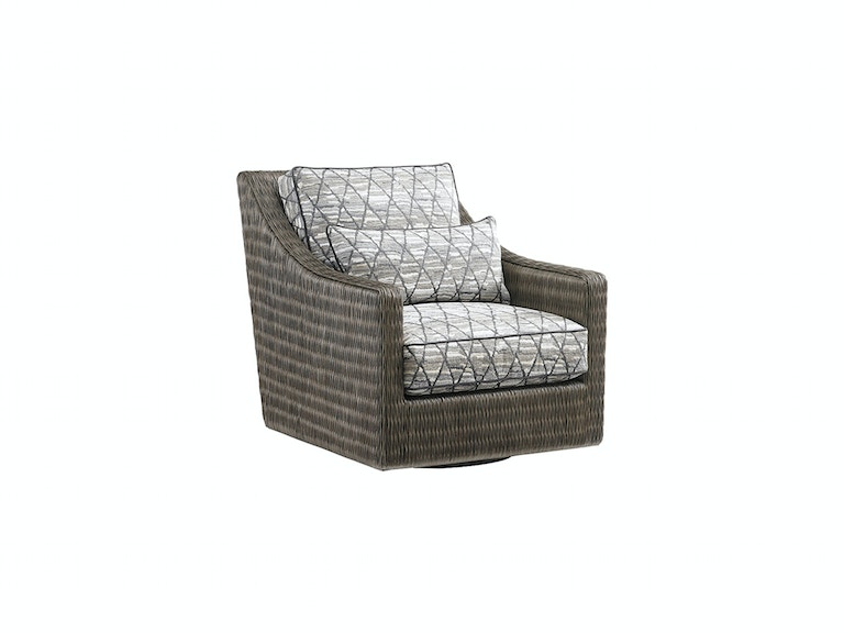 Tommy Bahama Home Hayes Swivel Chair 7470-11SW