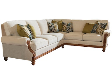 Tommy Bahama Home Living Room West Shore Sofa   Reviews