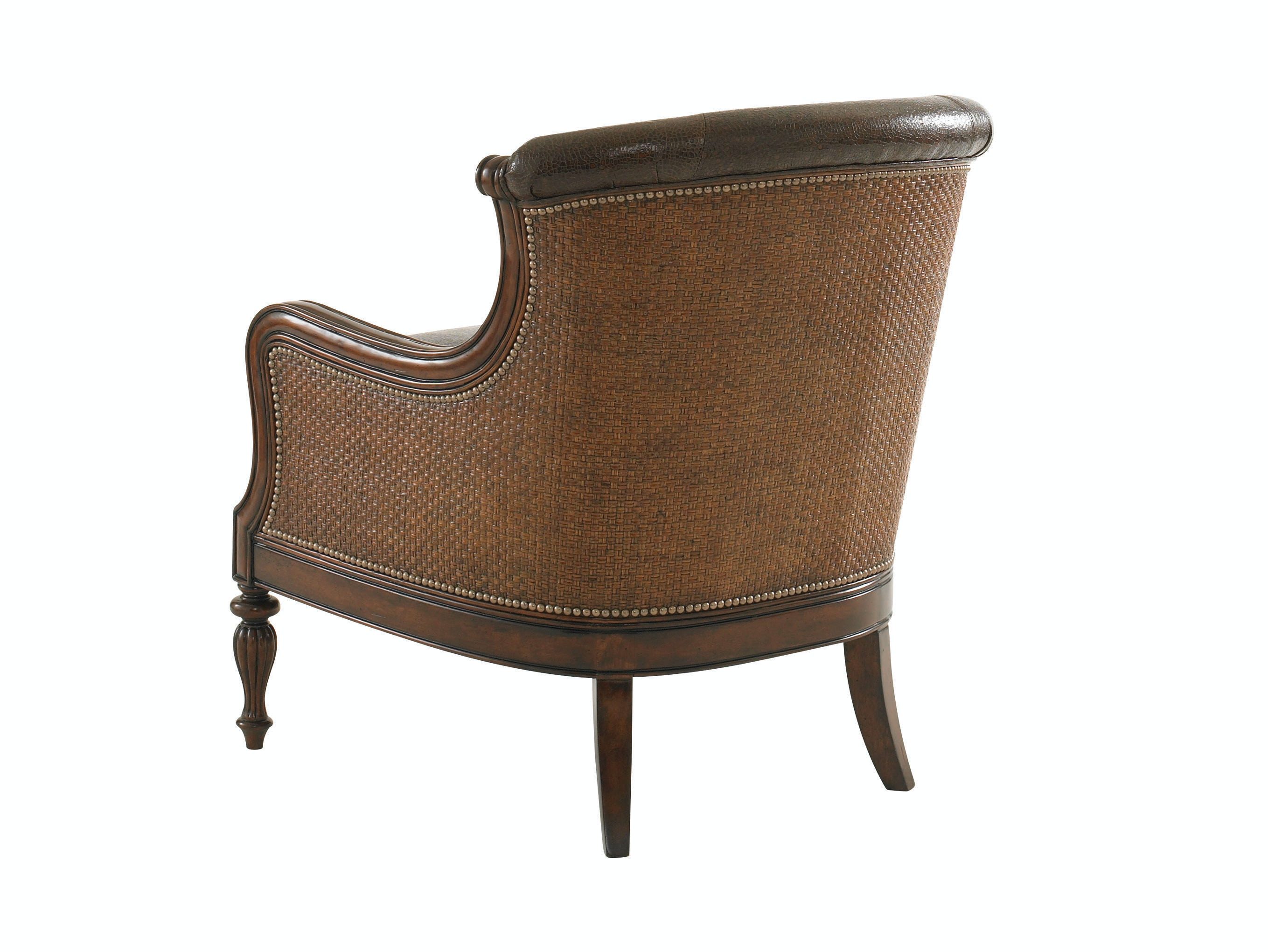Tommy Bahama Home Living Room Bluffton Leather Chair