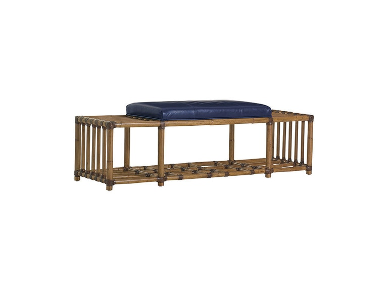 Tommy Bahama Home Seafarer Leather Bench LL1914-25