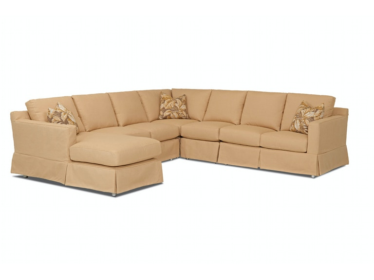Klaussner Outdoor Outdoor Patio Aspen Sectional W3385 Sect