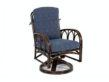 Klaussner Outdoor Capella Swivel Rocking Dining Chair W2000 SRDC