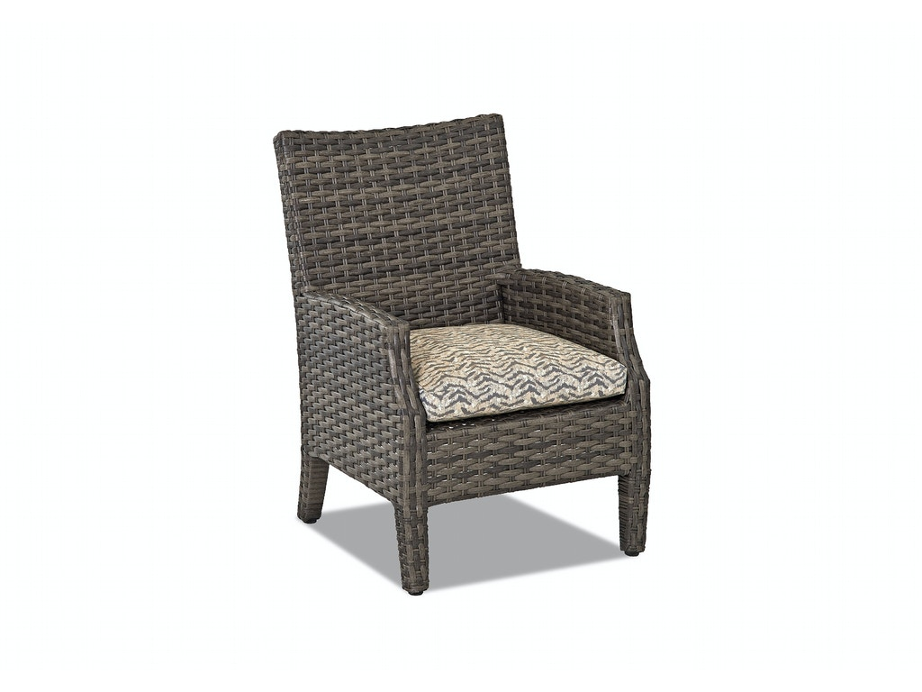 Klaussner Outdoor Outdoor Patio Cascade Dining Chair W5000