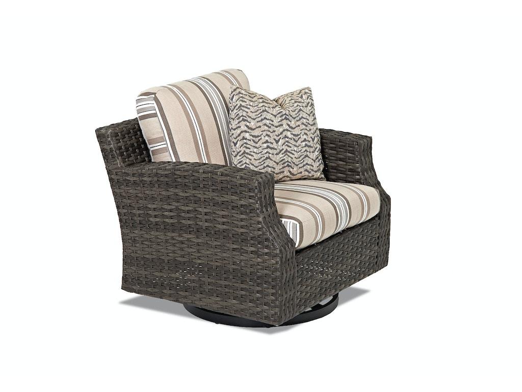 Klaussner Outdoor Outdoorpatio Cascade Swivel Glider Chair