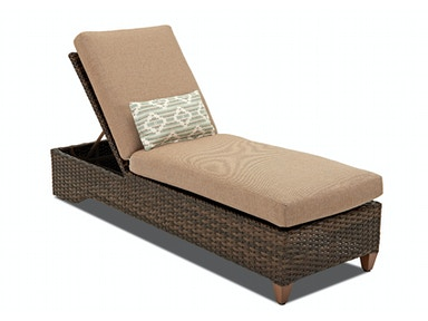 Klaussner Outdoor Sycamore Chaise W5100 CHASE