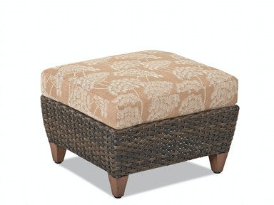 Klaussner Outdoor Sycamore Ottoman W5100 OTTO