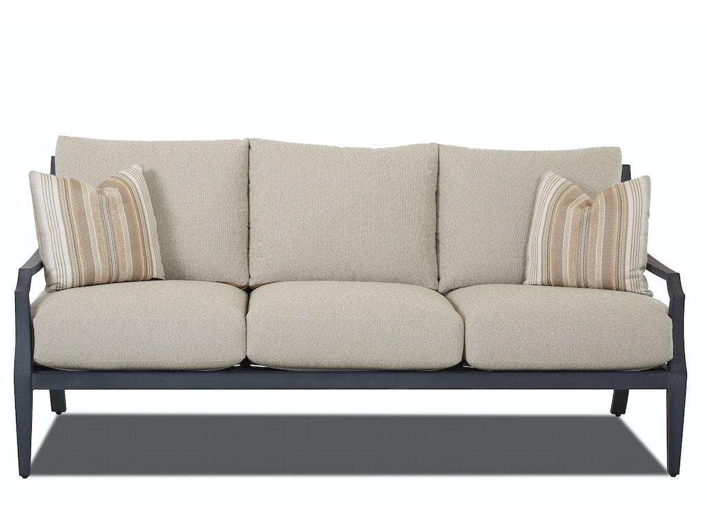 Klaussner Outdoor Outdoor Patio Mirage Sofa W2100 S