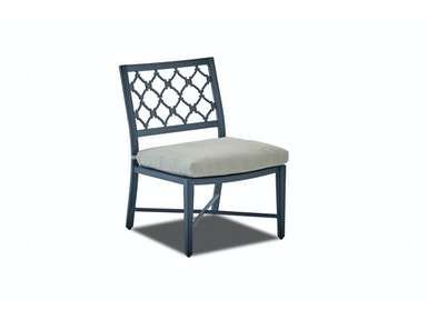 Klaussner Outdoor Mirage Dining Chair W2100 DSIDE
