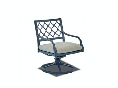 Klaussner Outdoor Mirage Swivel Rocking Dining Chair W2100 SRDC