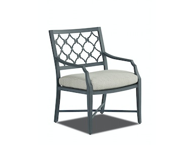 Klaussner Outdoor Mirage Dining Chair W2100 DRC