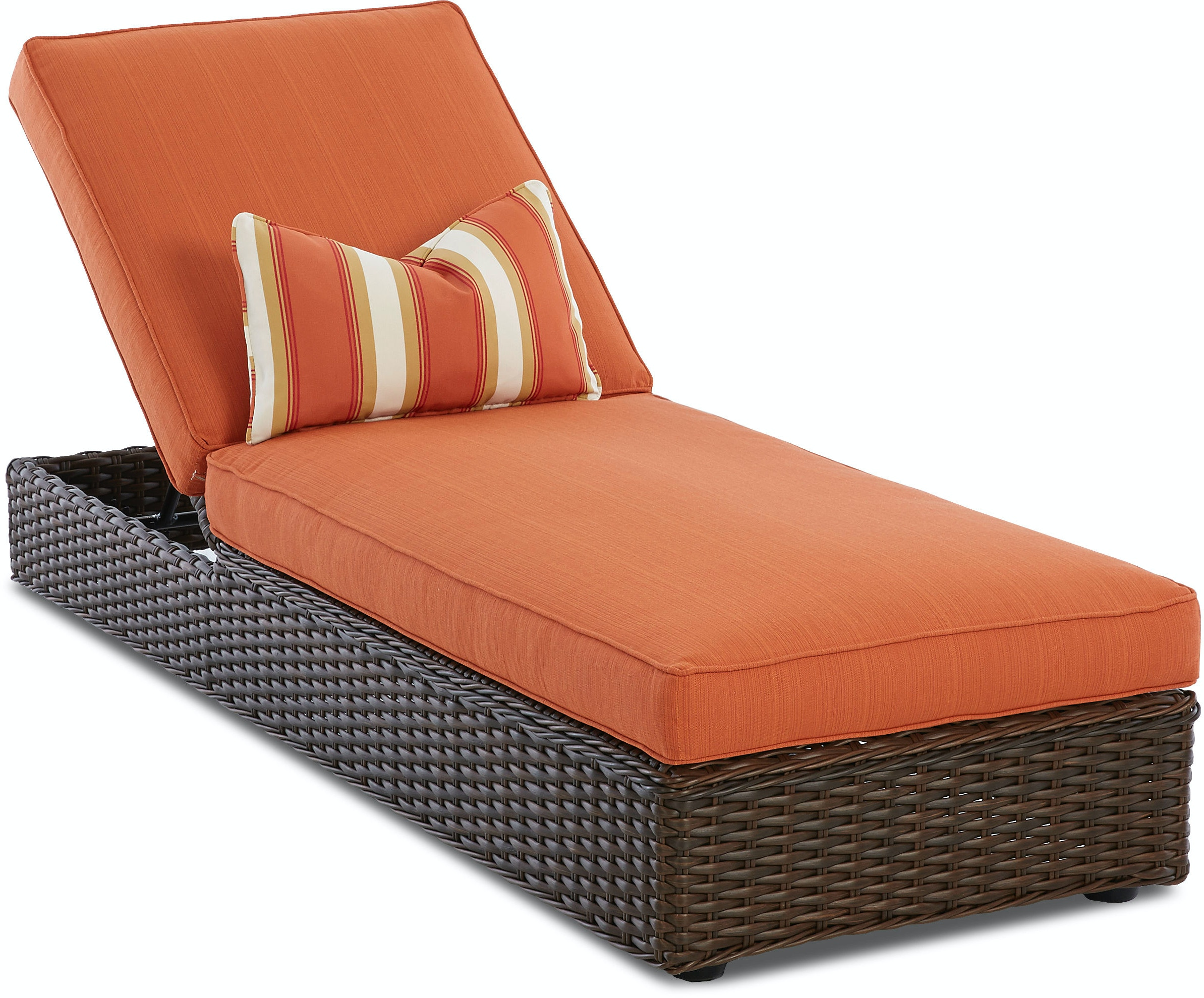 Klaussner Outdoor Outdoor Patio Laurel Chaise W1000 Chase