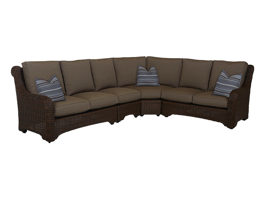Klaussner outdoor outdoor patio laurel sectional w1000 fab for Laurel 4 piece sectional sofa