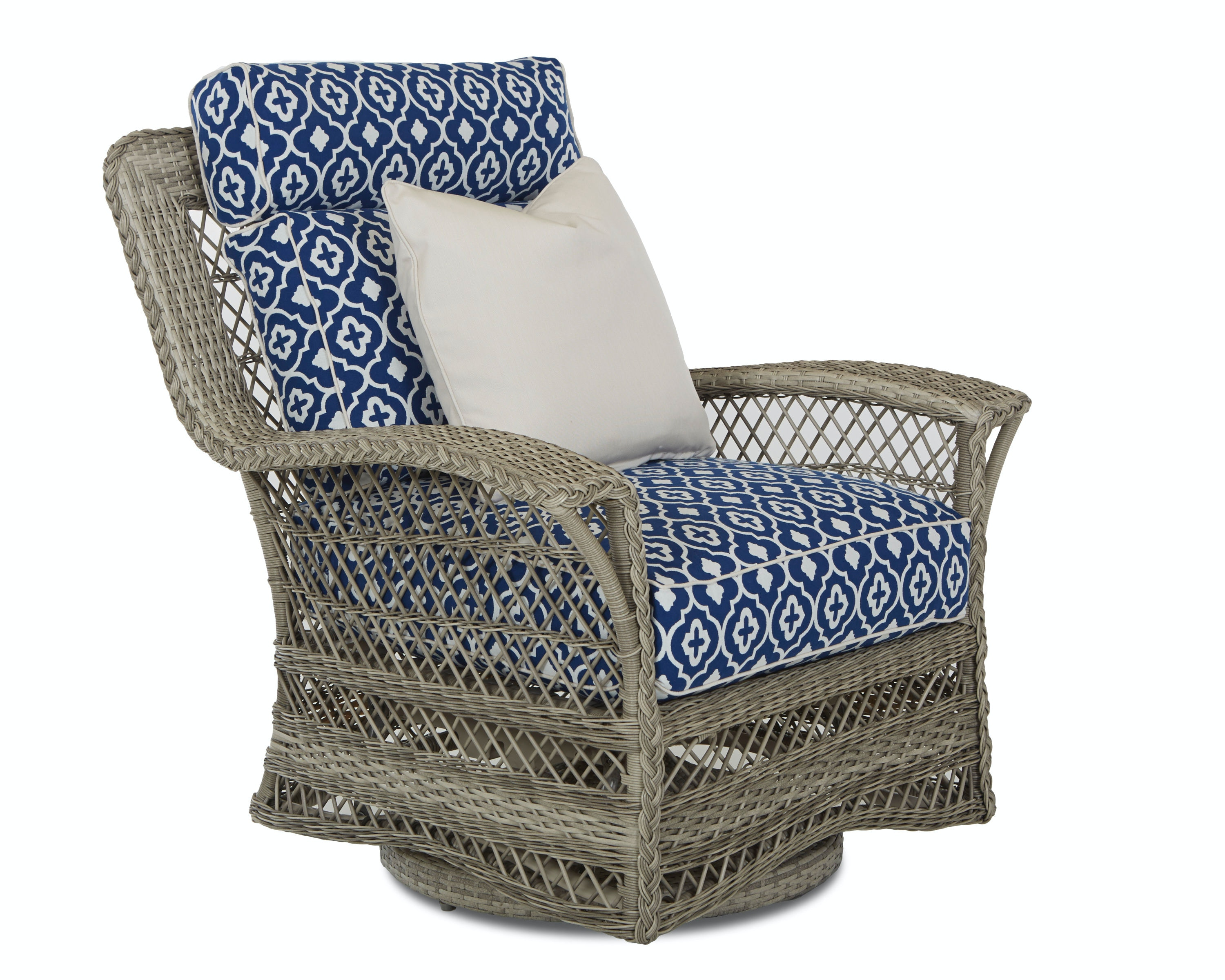 Klaussner Outdoor Willow Swivel Glider Chair W1200 SGC