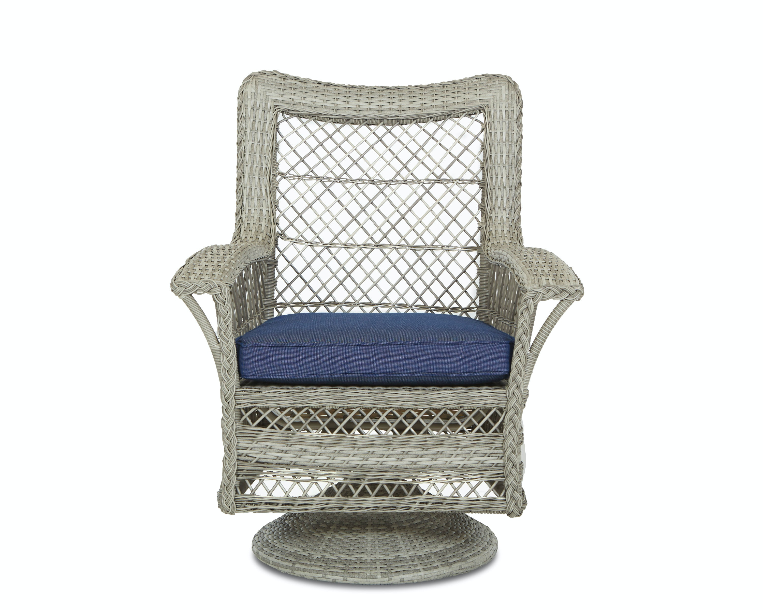 Klaussner Outdoor Willow Swivel Rocking Dining Chair W1200 SRDC
