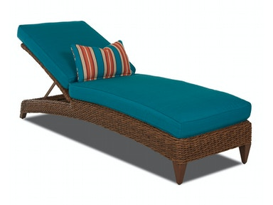 Klaussner Outdoor Palmetto Chaise W1400 CHASE