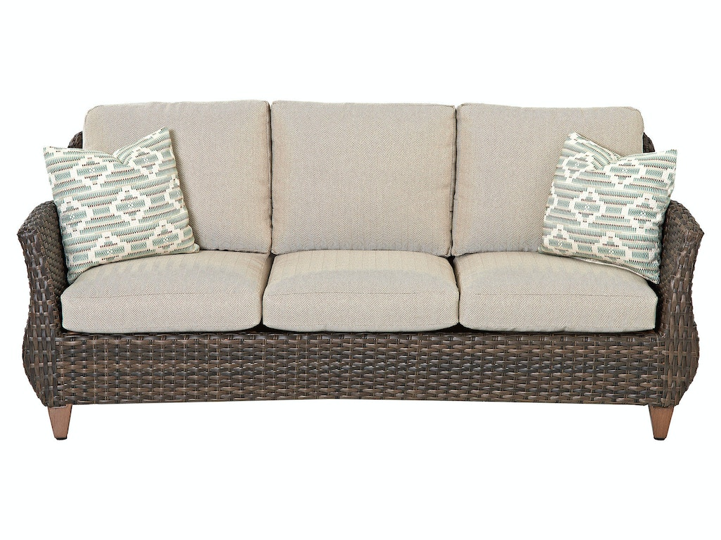 Klaussner Outdoor Outdoorpatio Sycamore Sofa W5100 S Hickory Furniture Mart Hickory Nc