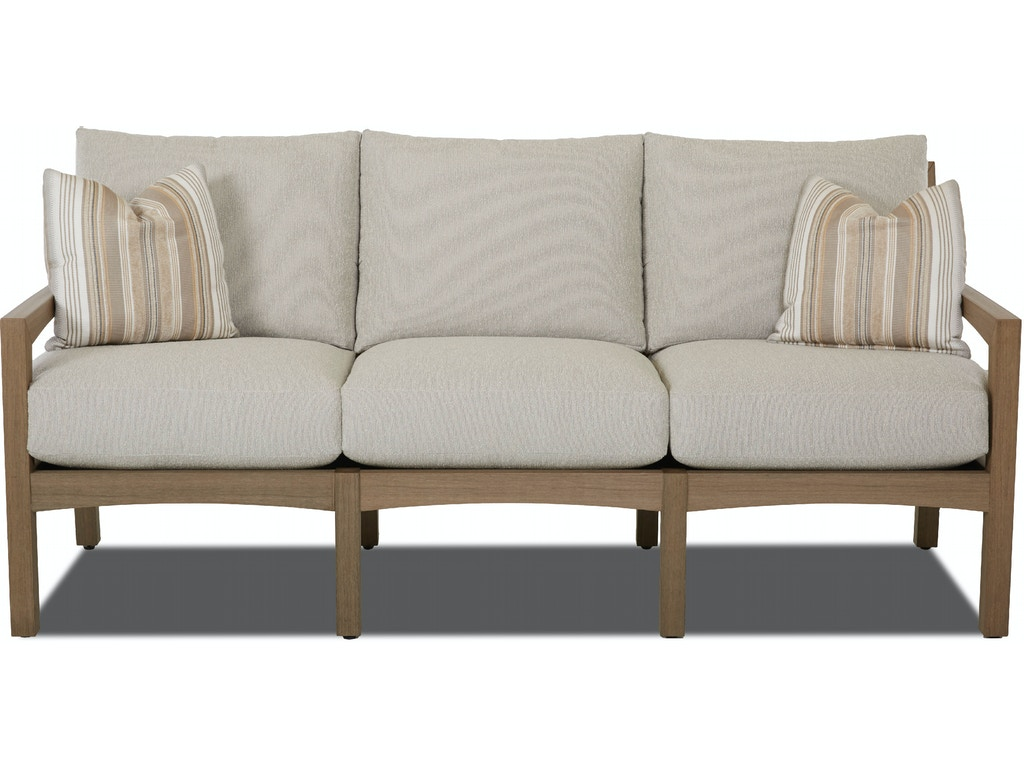 Klaussner Outdoor International Delray Sofa Frame Only W8502 SFOKlaussner Outdoor International Outdoor Patio Delray Sofa Frame  . Contemporary Furniture Sfo. Home Design Ideas