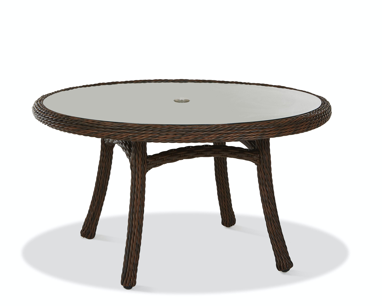 "Klaussner Outdoor International Outdoor Patio Laurel 54"" Dining Table W1"