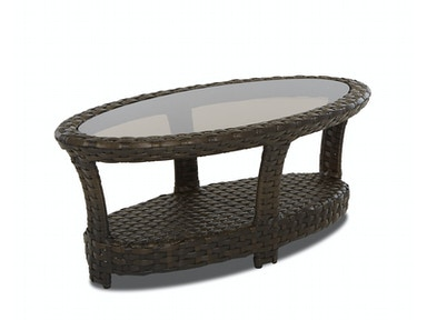 Klaussner Outdoor International Cassley Oval Cocktail Table W1100 OVCT