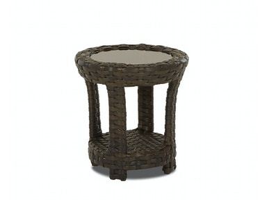 Klaussner Outdoor International Cassley Round Accent Table W1100 RDAT