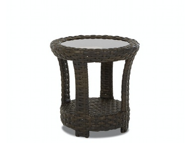 Klaussner Outdoor International Cassley Round End Table W1100 RDET