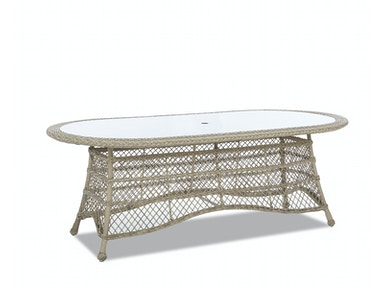 "Klaussner Outdoor International Willow 84"" Dining Table W1200 DRT84"