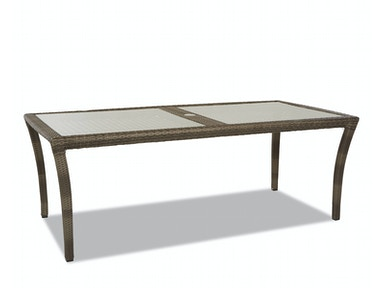 "Klaussner Outdoor International Amure 84"" Dining Table W1300 DRT84"
