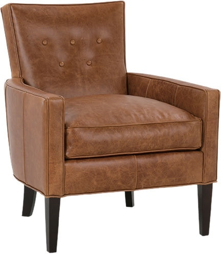 Robin Bruce Living Room Chair Leather BOYD L 006
