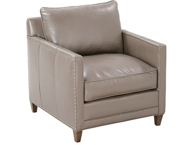 Robin Bruce Leather Chair SPRINGFIELD-L-006