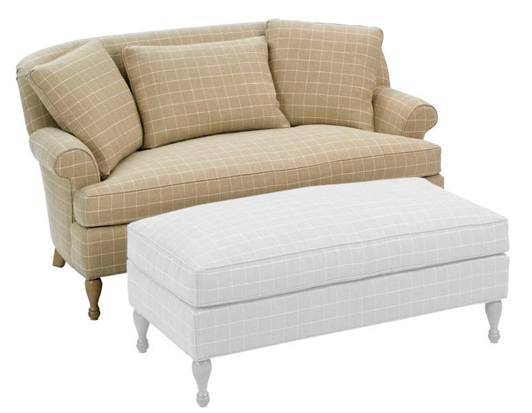 Wesley Hall Madison Settee 1404 70