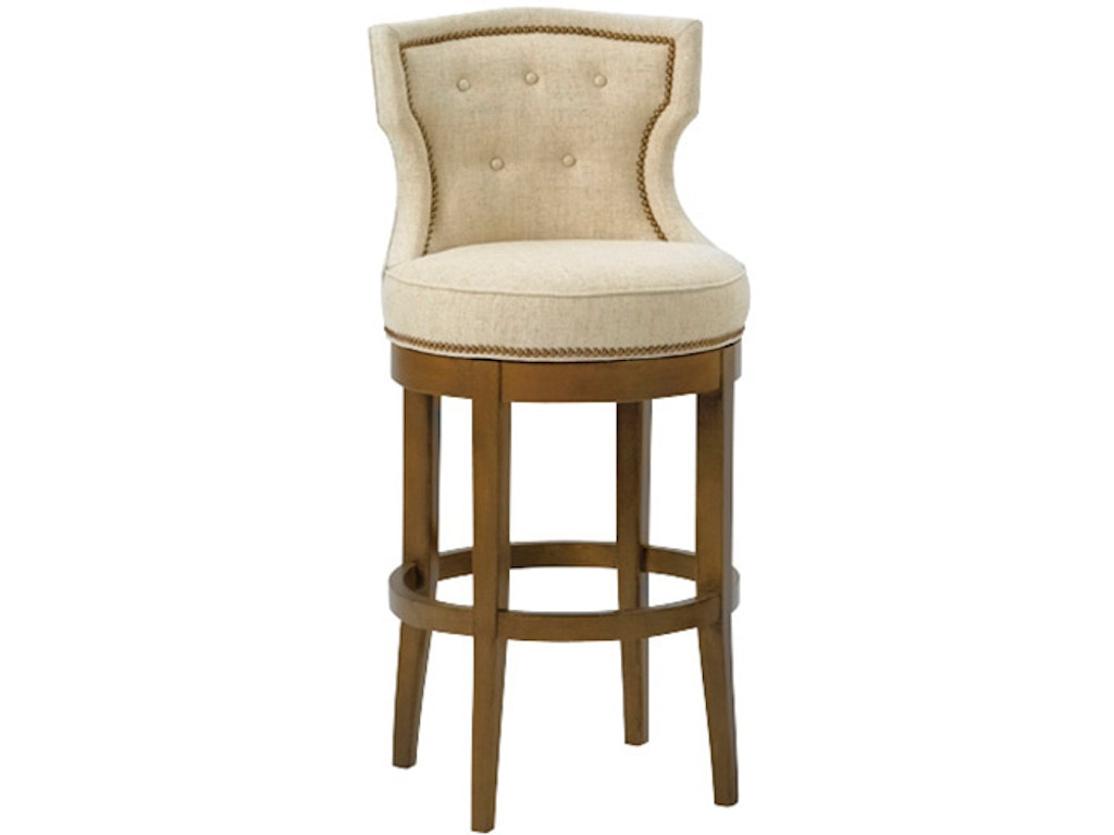Wesley Hall Bar And Game Room Charlotte Bar Stool 5012 Bs Seville Home Leawood Kansas City