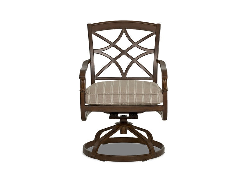 outdoor swivel rocking dining chair trisha yearwood outdoor swivel ...