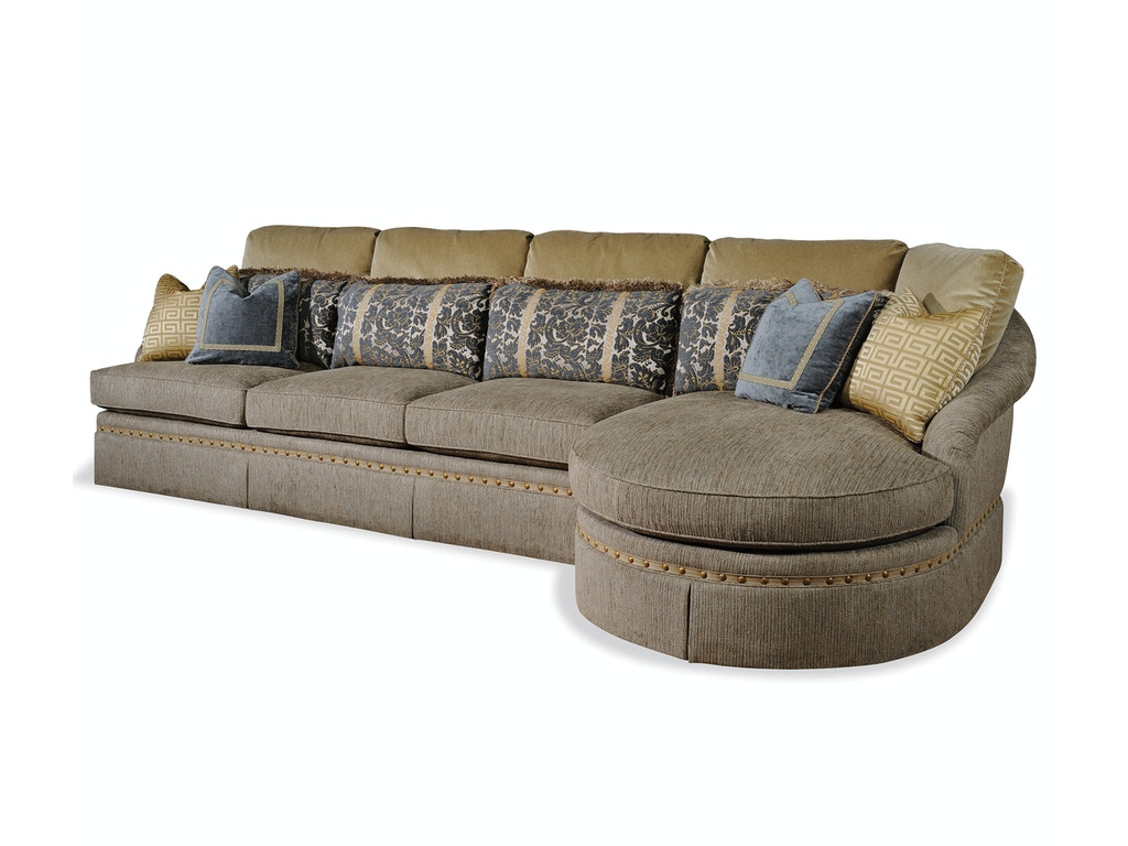 Taylor King Living Room Cabernet Sectional 32 Sectional