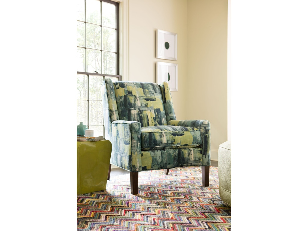 Rachael Ray by Craftmaster Living Room Soho Accent Wing Chair 540441 ...