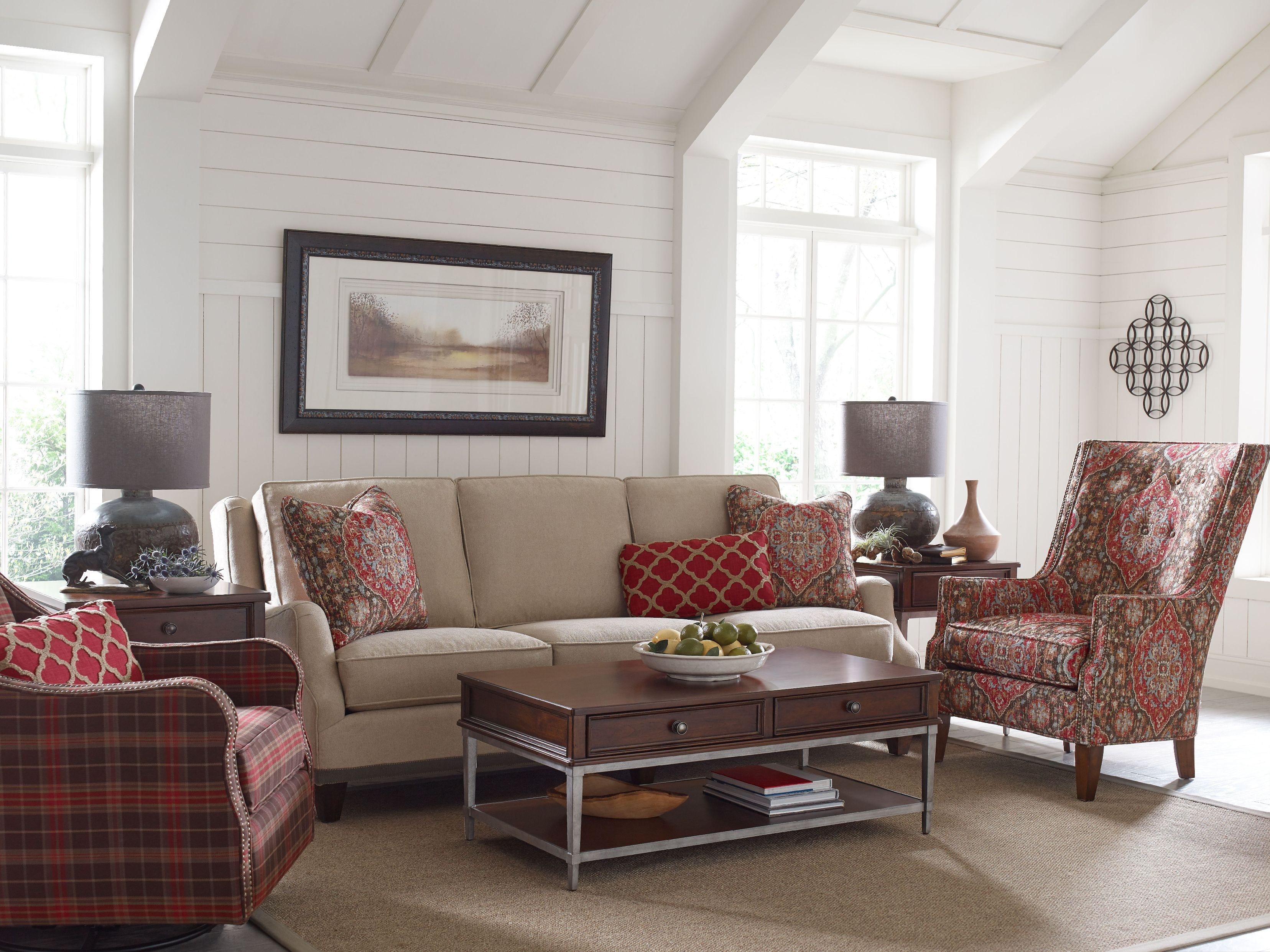 Rachael Ray By Craftmaster Living Room Sofa R761750CL